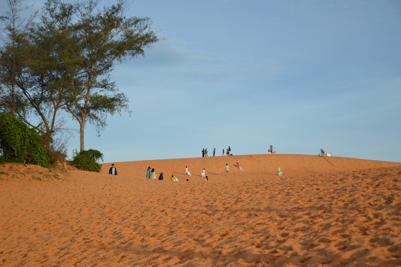 vietnam desert